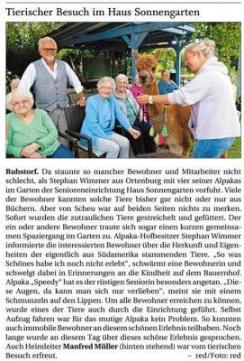 2021-09-20 - PNP - Seniorenheim Ruhstorf